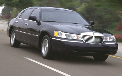 2000 Lincoln Town Car Exe exterior #6