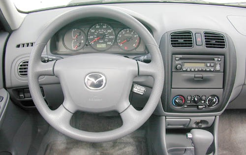 2002 Mazda Protege #9 2003 Mazda Protege ES 2.0 Exterior #9