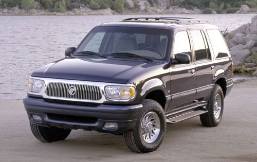 2000 Mercury Mountaineer  exterior #1