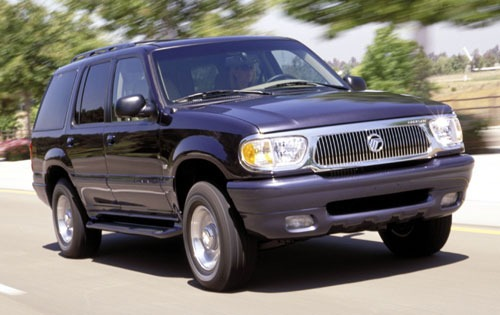 2000 Mercury Mountaineer  exterior #2