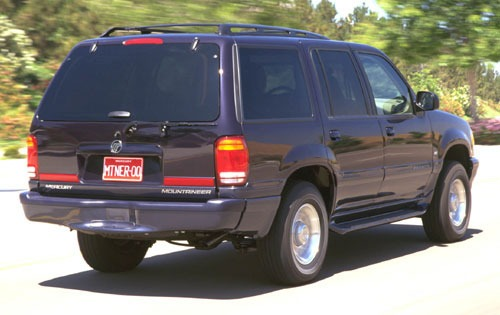 2000 Mercury Mountaineer  exterior #3