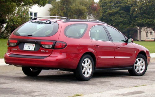 2000 Mercury Sable 4 Dr L exterior #6