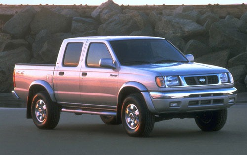2000 Nissan Frontier 4 Dr exterior #3