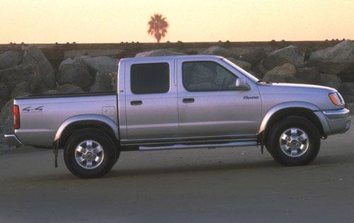 2000 Nissan Frontier #4 2000 Nissan Frontier 4 Dr Exterior #4