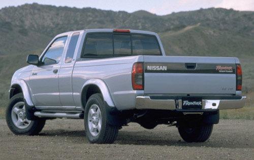2000 Nissan Frontier 5 4 Dr Exterior