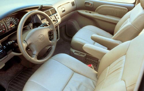 2002 Toyota Sienna LE 4dr exterior #7