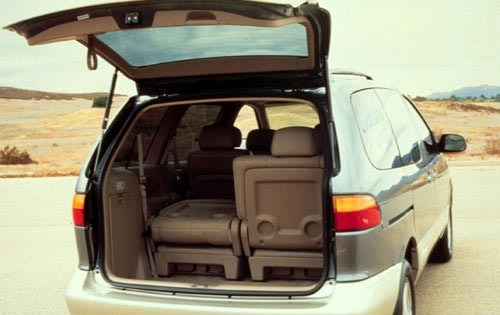 2002 Toyota Sienna LE 4dr exterior #6