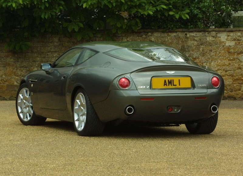 Aston Martin DB Information And Photos ZombieDrive - 2001 aston martin vanquish