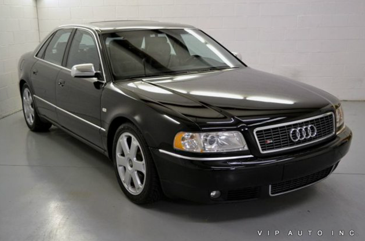 2001 Audi S8 - Information and photos - ZombieDrive