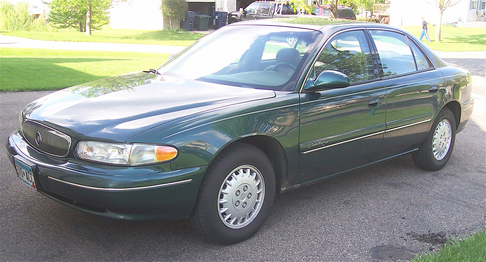 2001 buick century information and photos zombiedrive. Black Bedroom Furniture Sets. Home Design Ideas