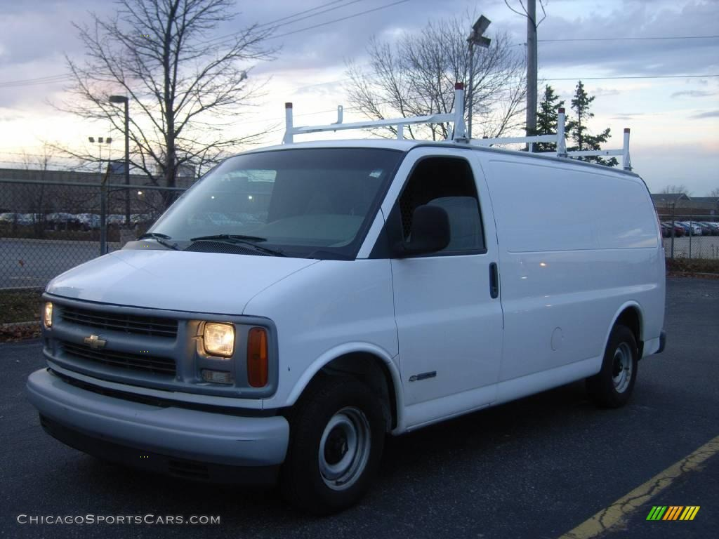white large van groovecar composite cargo express research chevrolet summit