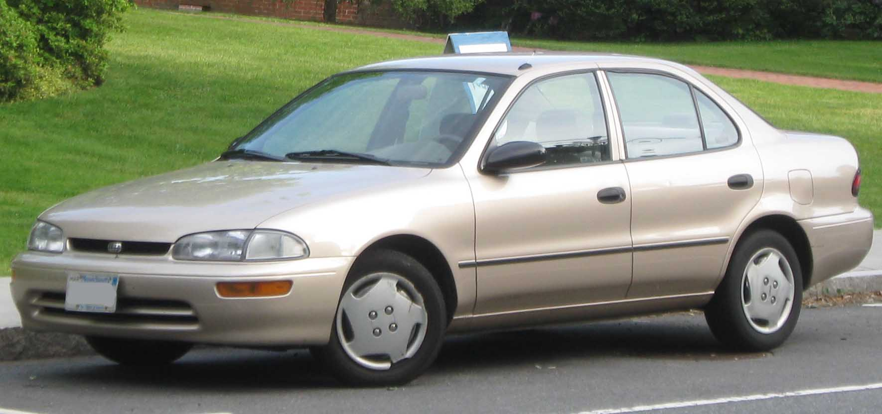 2001 Chevrolet Prizm #3 Chevrolet Prizm #3