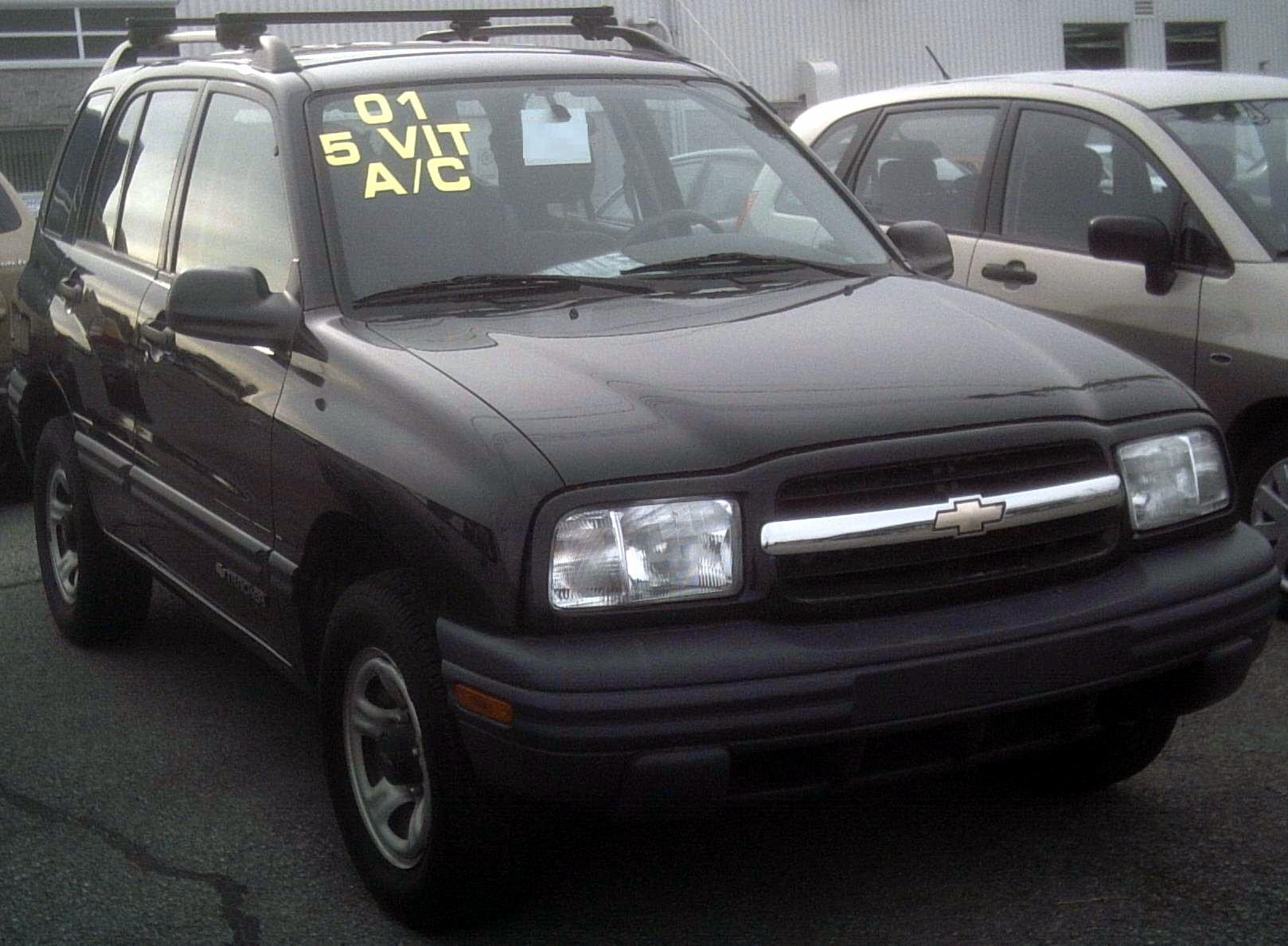 2001 Chevrolet Tracker #19 Chevrolet Tracker #19