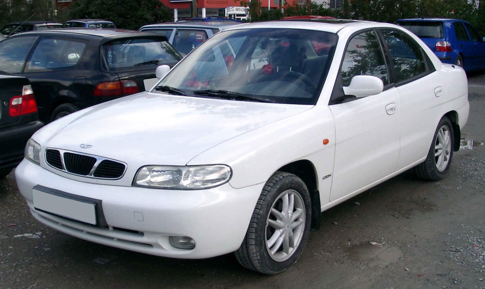 2001 Daewoo Nubira #1 Daewoo Nubira #1