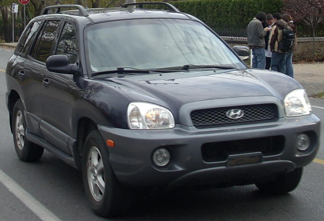 2001 Hyundai Santa Fe - Information and photos - ZombieDrive