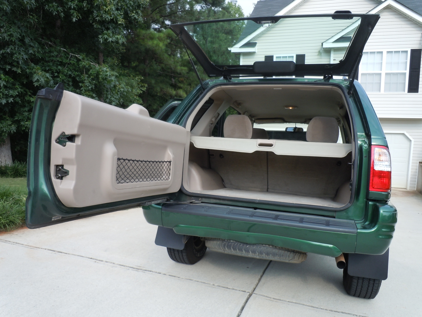 2001 isuzu rodeo sport information and photos zombiedrive. Black Bedroom Furniture Sets. Home Design Ideas