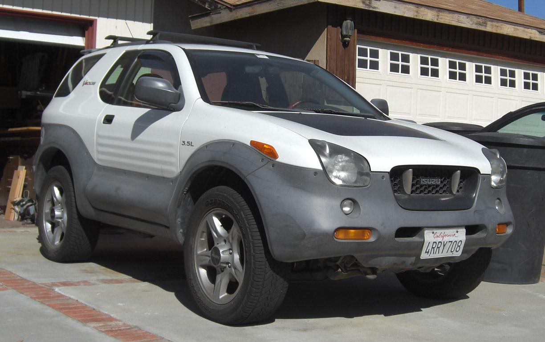2001 isuzu vehicross 12 isuzu vehicross 12