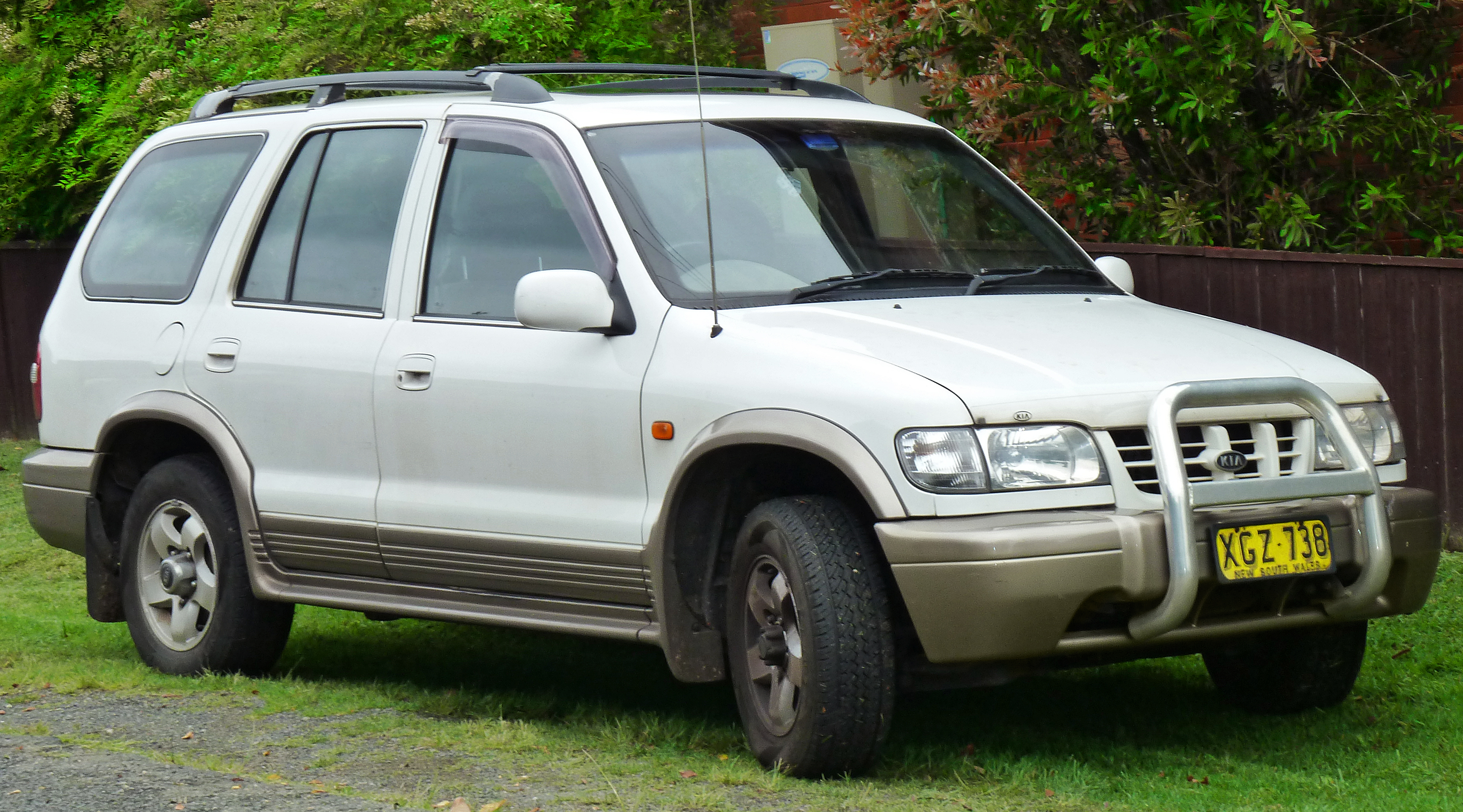 2001 Kia Sportage - Information and photos - ZombieDrive