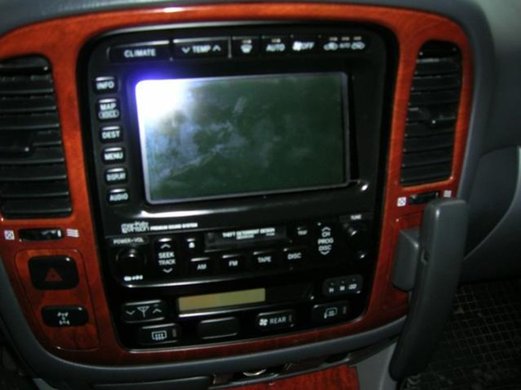 Lexus Interior >> 2001 LEXUS LX 470 - Image #21