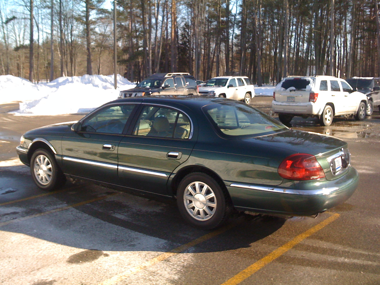 2001 Lincoln Continental Image 10