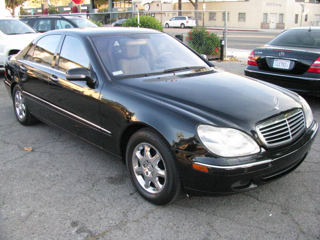 2001 mercedes benz s class information and photos. Black Bedroom Furniture Sets. Home Design Ideas
