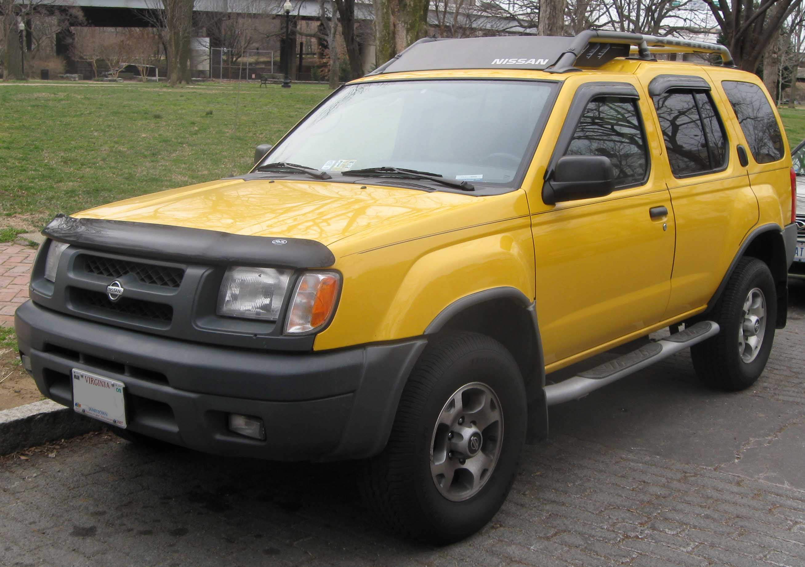 2001 Nissan Xterra Information and photos ZombieDrive