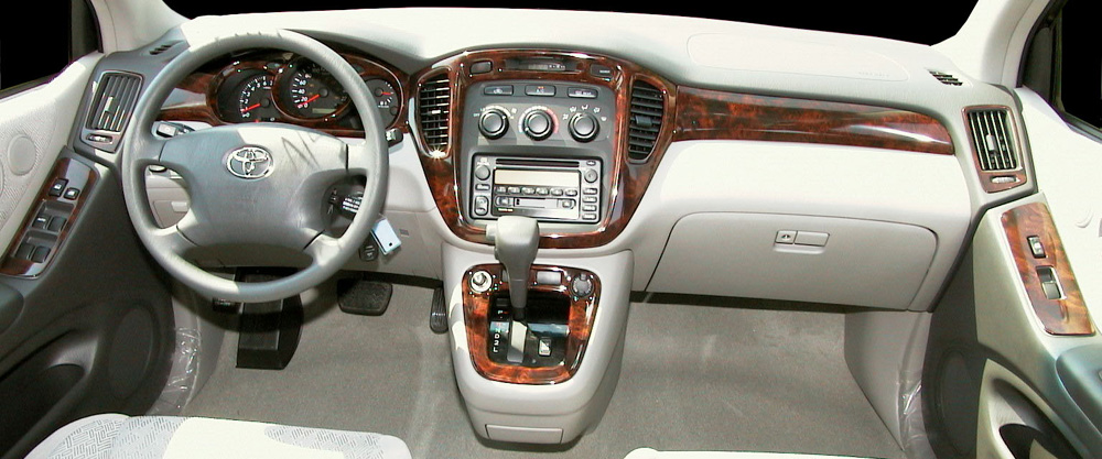 Toyota Highlander Information And Photos ZombieDrive - 2001 highlander