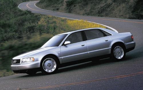 2001 Audi A8 Image 1