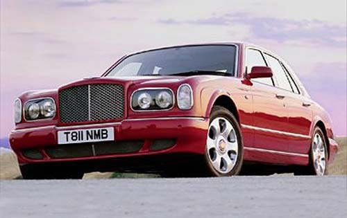 2001 Bentley Arnage Red L interior #2