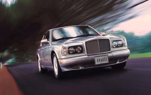 2001 Bentley Arnage Red L interior #1