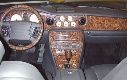 2001 Bentley Arnage Red L interior #7