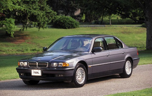 2001 BMW 740iL 4dr Sedan exterior #5