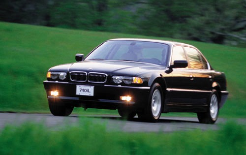 2001 BMW 740iL 4dr Sedan exterior #1