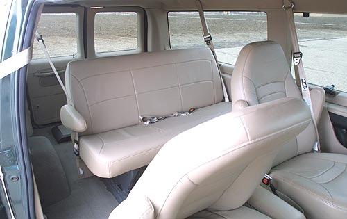 2001 Ford Econoline Wagon Interior 3