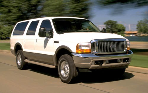 2001 Ford Excursion Front exterior #1
