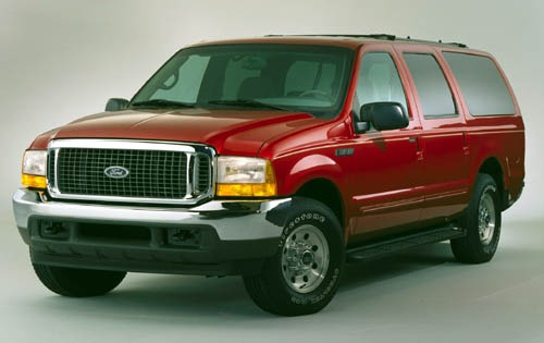 2001 Ford Excursion Front exterior #2