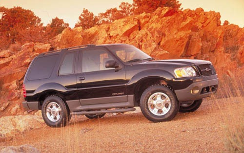 2001 Ford Explorer Sport  interior #5