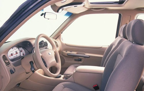 2001 Ford Explorer Sport  interior #13