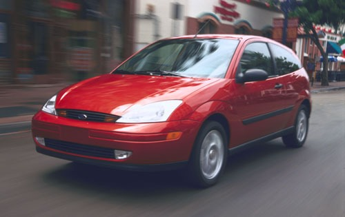 2001 Ford Focus ZTS 4dr S exterior #3