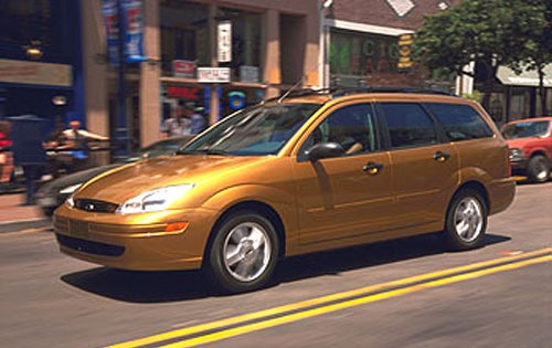 2001 Ford Focus ZTS 4dr S exterior #1