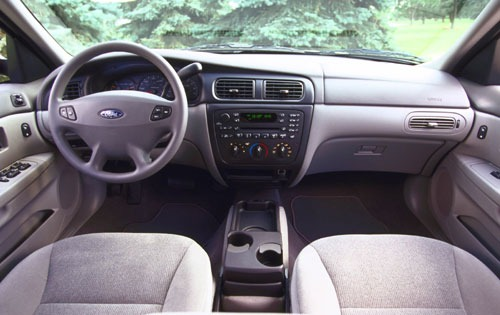 2001 Ford Taurus SE Rear  interior #8