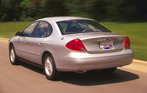 2001 Ford Taurus SE Rear  interior #4