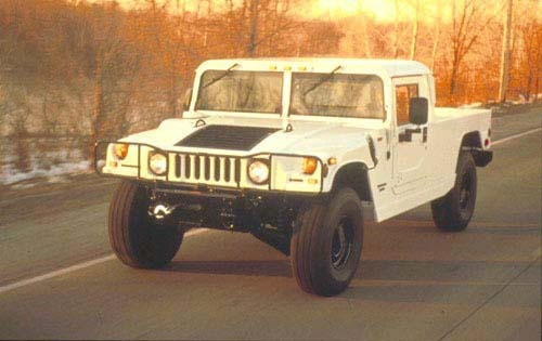 2001 HUMMER H1 Open Top I interior #4