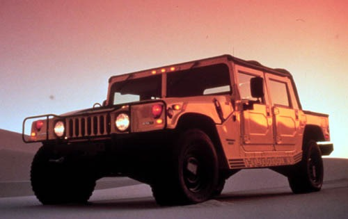 2001 HUMMER H1 Open Top I interior #1