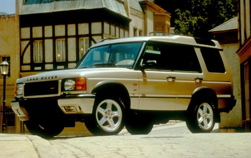 2001 Land Rover Discovery exterior #1