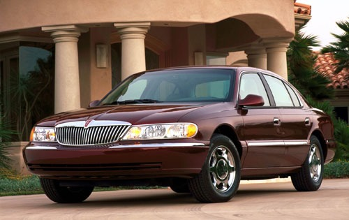 2001 Lincoln Continental  exterior #1