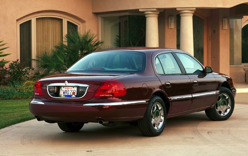 2001 Lincoln Continental  exterior #2