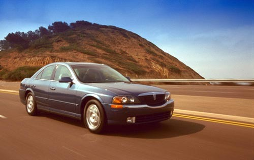 2001 Lincoln LS 4dr Sedan interior #8