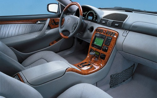 Mercedes Benz Cl500 Interior 2001 Mercedes-benz Cl500