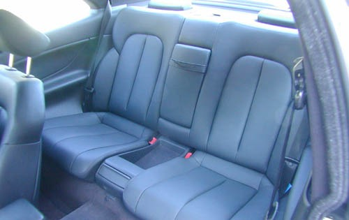 2001 Mercedes-Benz CLK320 interior #8
